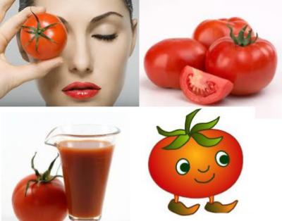 Cách trị mụn cám bằng Cà chua